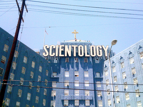 Scientology church challenged by actors claiming abuse