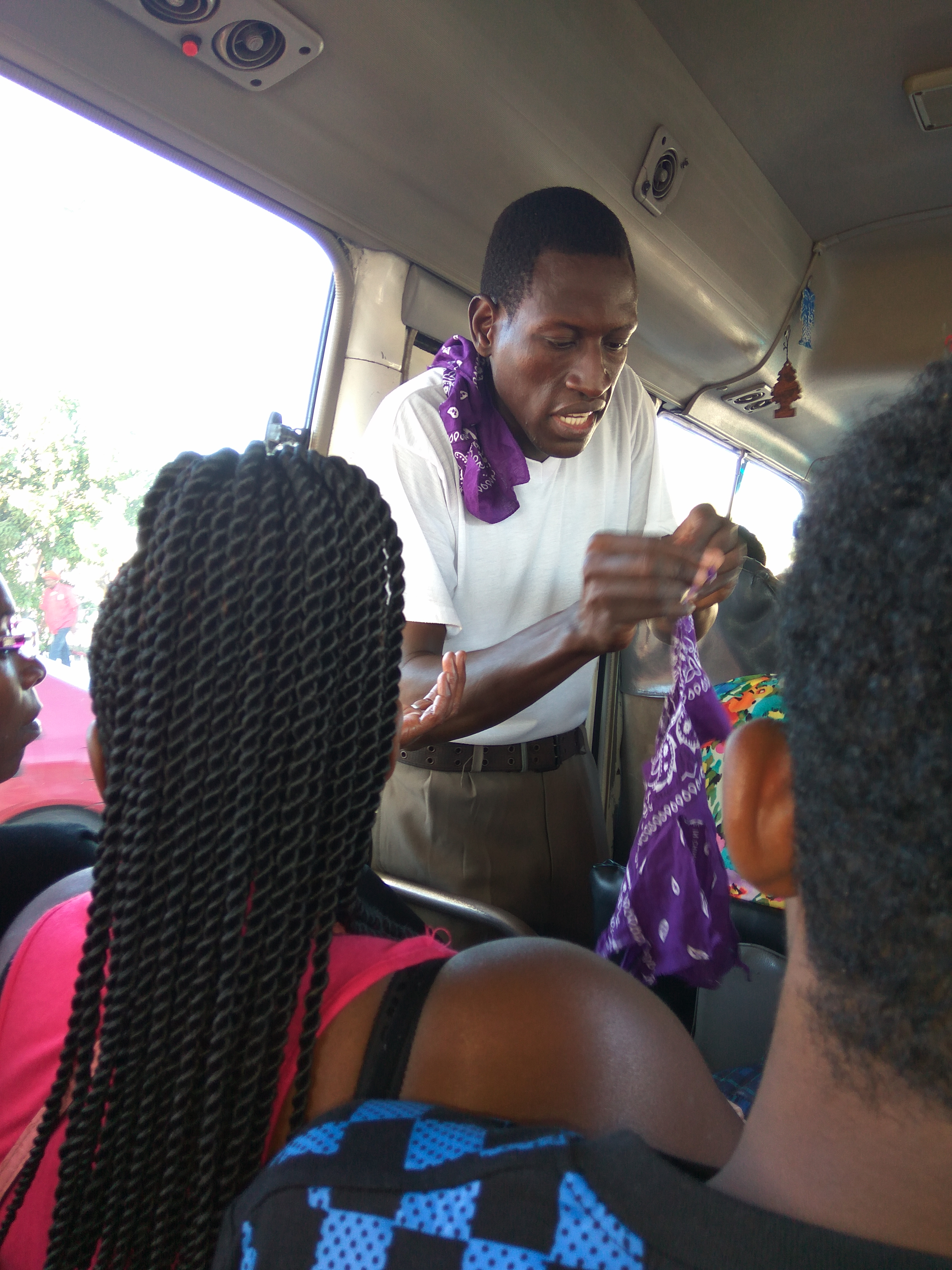 Bus Pastor making impact on country route in Jamaica