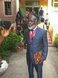 ANTHEA McGIBBON PHOTOS: 2017 Musgrave Medals Awards Ceremony held at the Lecture Hall, Institute of Jamaica on May 25th, 2017. Time out for an interview with silver medalist Freddie McGregor.