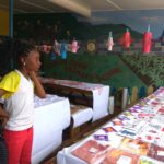 Exhibits of art and craft by Allman Town Primary Grade 6 students