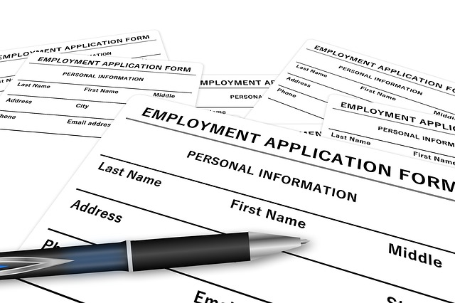 sample of job applications